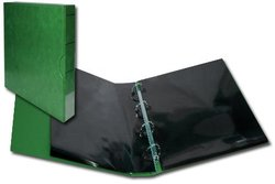 GREEN DELUXE MINT SHEET BINDER WITH CASE