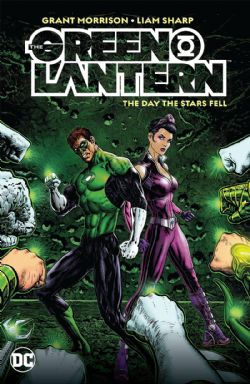 GREEN LANTERN -  THE DAY THE STARS FELL HC 02
