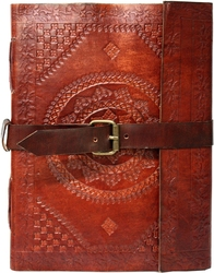 GRIMOIRES -  LARGE LEATHER GRIMOIRE (7