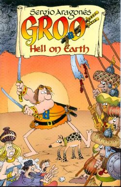 GROO -  USED BOOK - HELL ON EARTH TP (ENGLISH)