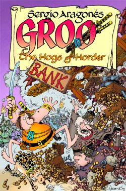 GROO -  USED BOOK - HOGS OF HORDER TP (ENGLISH)
