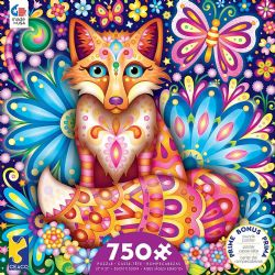 GROOVY ANIMALS -  FOX (750 PIECES)