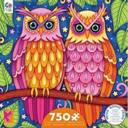 GROOVY ANIMALS -  OWL (750 PIECES)