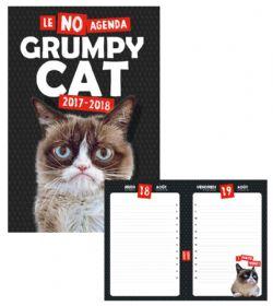 GRUMPY CAT -  LE NO AGENDA 2017-2018