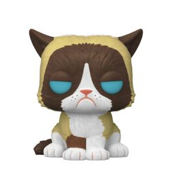 GRUMPY CAT -  POP! VINYL FIGURE OF GRUMPY CAT (FLOCKED) (4INCH) 60