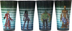 GUARDIANS OF THE GALAXY -  4 PACK GLASS SET (16 OZ)