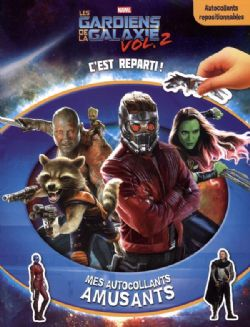 GUARDIANS OF THE GALAXY -  C'EST REPARTI ! - MES AUTOCOLLANTS AMUSANTS -  LES GARDIENS DE LA GALAXIE VOL.2