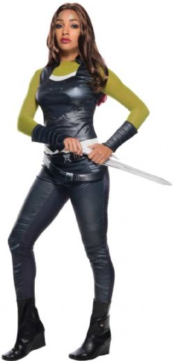 GUARDIANS OF THE GALAXY -  GAMORA DELUXE COSTUME (ADULT) -  GUARDIANS OF THE GALAXY VOL. 2