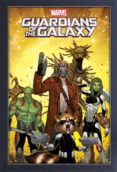 GUARDIANS OF THE GALAXY -  GROUP PICTURE FRAME (13