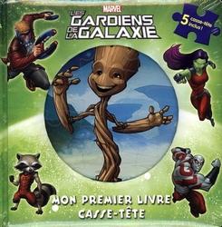 GUARDIANS OF THE GALAXY -  MON PREMIER LIVRE CASSE-TÊTE