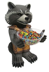 GUARDIANS OF THE GALAXY -  ROCKET RACCOON - CANDY HOLDER (18