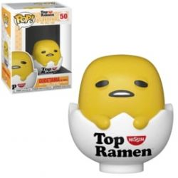 GUDETAMA -  POP! VINYL FIGURE OF GUDETAMA IN SHELL (4 INCH) -  TOP RAMEN 50