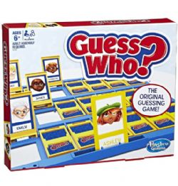 GUESS WHO? -  CARD GAME (BILINGUAL)