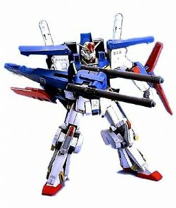 GUNDAM -  MSZ-010 ZZ GUNDAM - 1/100 SCALE - MASTER GRADE -  A.E.U.G. MULTIPURPOSE PROTOTYPE TRANSFORMABLE MOBILE SUIT