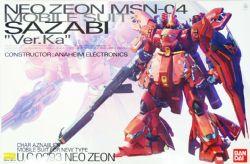 GUNDAM -  NEO ZEON MSN-04 SAZABI VER.KA 1/100 -MASTER GRADE-