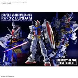 GUNDAM -  PERFECT GRADE UNLEASHED 1/60 - RX-78