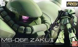 GUNDAM -  PRINCIPALITY OF ZEON - MS-06F ZAKU II <BR>1/144 -REAL GRADE-