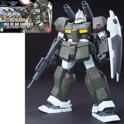 GUNDAM -  RGC-83 GM CANNON II, E.F.S.F. MOBILE SUIT-<BR>1/144 -HIGH GRADE- -  MOBILE SUIT GUNDAM 0083
