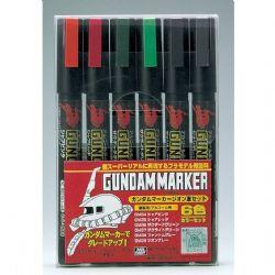 GUNDAM -  ZEON SET -  GUNDAM MARKER
