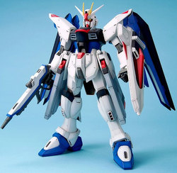 GUNDAM -  ZGMF-X10A FREEDOM GUNDAM -<BR>1/60 -BIG SCALE- -  MOBILE SUIT GUNDAM SEED