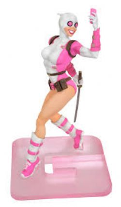 GWENPOOL -  GWENPOOL PVC STATUE (9INCHES) -  MARVEL GALLERY