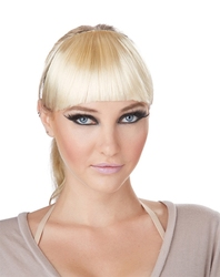 HAIR EXTENSIONS -  CLIP-ON BANGS