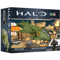 HALO -  UNSC PELICAN WITH SOUNDS AND LIGHT 1/100 (EASY)