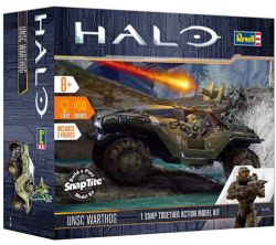 HALO -  UNSC WARTHOG WITH SOUNDS AND LIGHT 1/32 (EASY)
