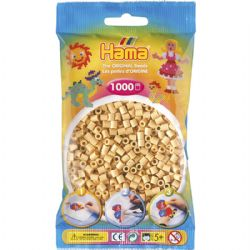 HAMA BEADS -  BEADS - BEIGE (1000 PIECES)