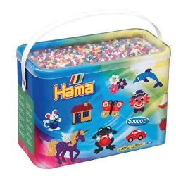 HAMA BEADS -  BEADS IN BUCKET (30000 PIECES) 20800