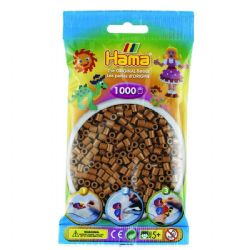 HAMA BEADS -  BEADS - NOUGAT (1000 PIECES)