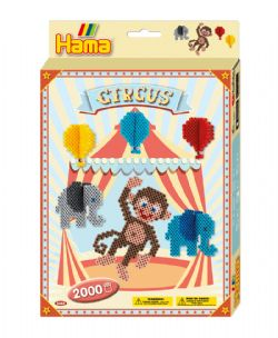 HAMA BEADS -  CIRCUS (2000 PIECES)