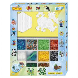 HAMA BEADS -  GIANT OPEN GIFT BOX (7200 PIECES)