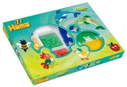 HAMA BEADS -  GIFT BOX ASSORTMENT (2400 PIECES) - DOLPHINS 3717