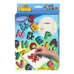 HAMA BEADS -  LETTERS (2000 PIECES)