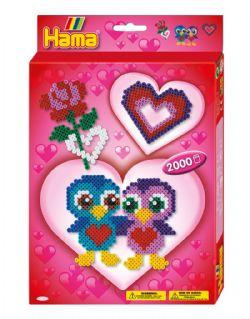 HAMA BEADS -  LOVE (2000 PIECES)