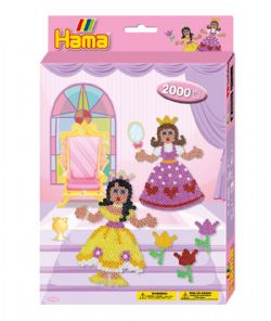 HAMA BEADS -  PRINCESS (2000 PIECES)