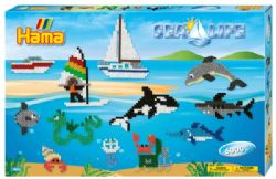 HAMA BEADS -  SEA LIFE (6000 PIECES)