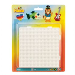 HAMA BEADS -  SQUARE PEGBOARD BLISTER
