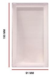 HARD PLASTIC BILL HOLDER (190 MM X 91 MM)