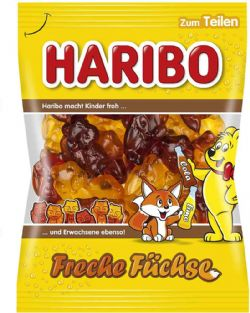 HARIBO -  FRECHE FUCHSE GUMMIES CANDY (7OZ)
