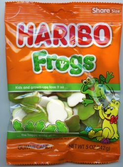 HARIBO -  FROGS GUMMIES CANDY (5OZ)