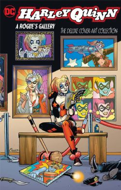 HARLEY QUINN -  A ROGUES GALLERY THE DLX COVER ART COLLECTION HC