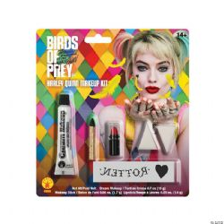 HARLEY QUINN -  HARLEY QUINN MAKEUP KIT -  BIRDS OF PREY