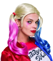 HARLEY QUINN -  HARLEY QUINN WIG -  SUICIDE SQUAD