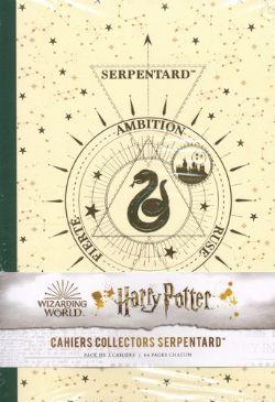 HARRY POTTER -  3 HARRY POTTER CONSTELLATION NOTEBOOKS -  SLYTHERIN