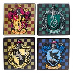 HARRY POTTER -  4 SQUARE COASTER SET