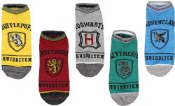 HARRY POTTER -  5 PAIRS - SOCKS -  QUIDDITCH