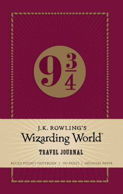 HARRY POTTER -  9 3/4 - RULED POCKET NOTEBOOK (192 PAGES)
