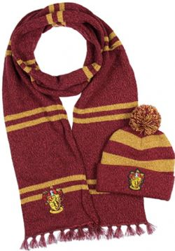 HARRY POTTER -  BEANIE/SCARVE COMBO -  GRYFFINDOR